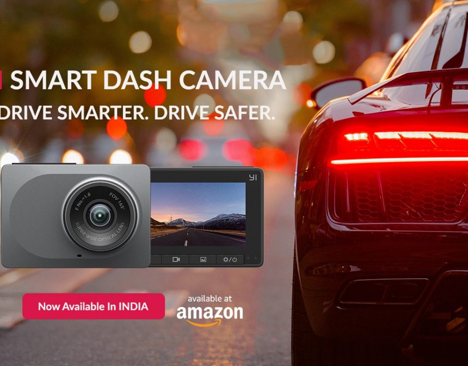 YI Smart Dash Camera in India