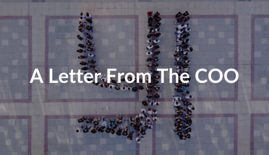 A Letter From COO (1)