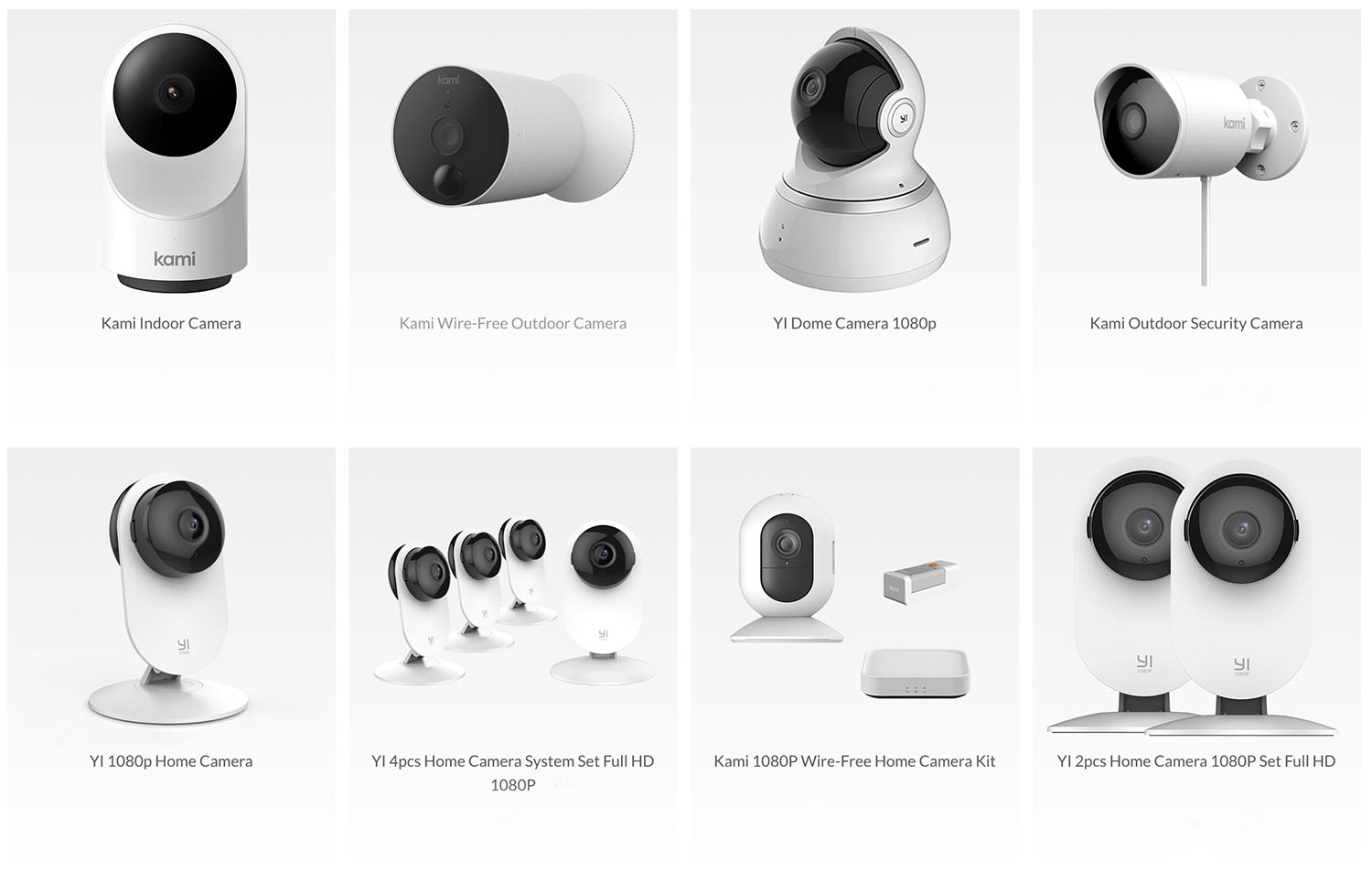 home security cameras systems indoor and outdoor