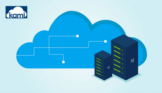 Cloud servers and kami cloud logo